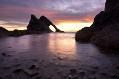 Rising swell, Bow Fiddle Rock