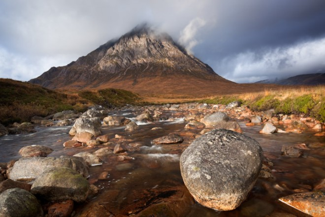 Buachaille Etive Mor and the River Coupall