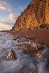 Late afternoon, Burton Cliff
