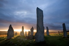 Callanish I, facing the dawn