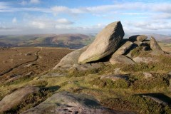 Over Owler Tor and Surprise View, Millstone Edge