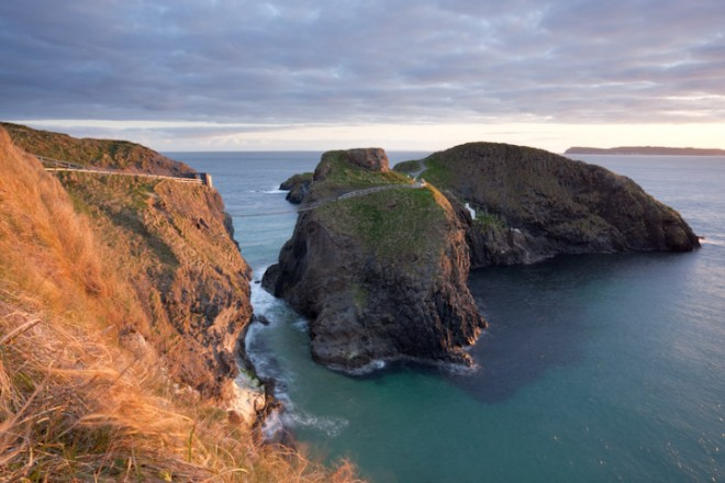 First light, Carrick-a-Rede
