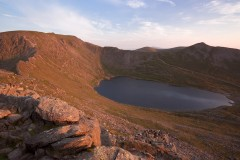 Sunrise, Helvellyn and Red Tarn