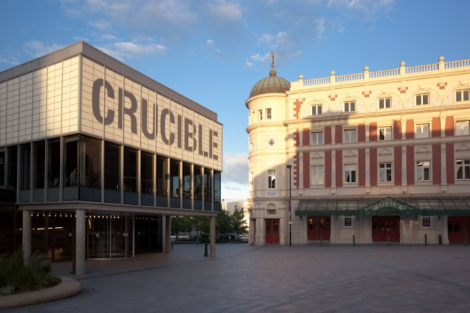 The Crucible and the Lyceum, late evening