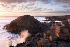 Rising swell, The Giant's Causeway