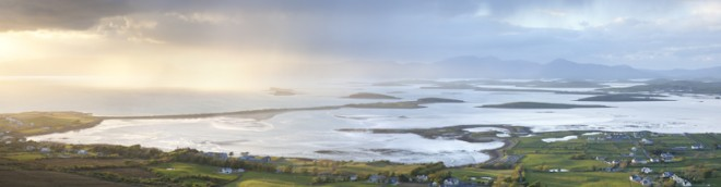 Approaching storm, Clew Bay