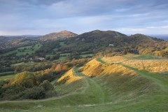 Autumnal evening, Malvern Hills