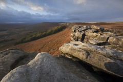 Stanage Edge, leading northwest