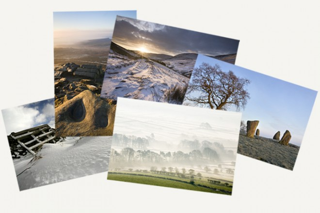 Christmas card five pack