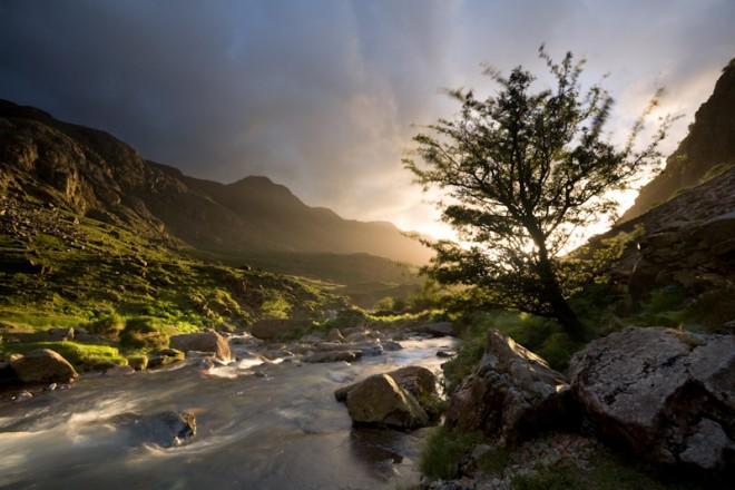 Afon Nant Peris, Llanberis Pass