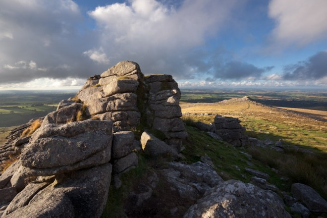 Belstone Tor, showery afternoon