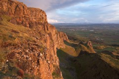 Binevenagh, passing squall