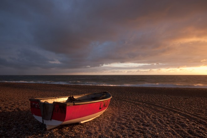 First light, Blakeney Point