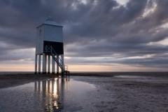 Gold splash, Burnham lighthouse