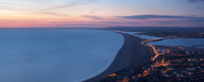 Chesil Beach and Isle of Portland