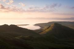 Dun Mor and Staffin Bay