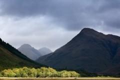 Stob Dubh and Buachaille Etive Mor, Glen Etive