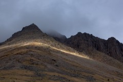 Darkening sky, Great Gable
