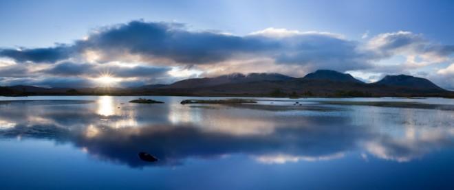 Loch Ba at sunrise, Rannoch Moor