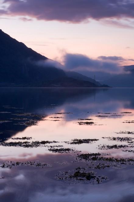 Loch Etive, swirling water