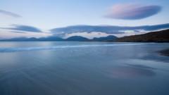 Reflections at dusk, Luskentyre
