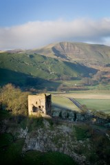 Peveril Castle and Mam Tor