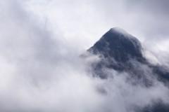 Clearing clouds, Sgurr nan Gillean