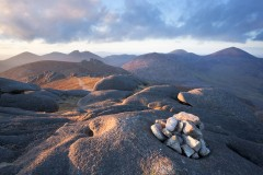 Slieve Binnian and the Mourne Mountains