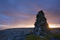 Conical cairn, Twisleton Scars