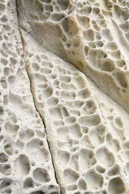Eroded sandstone, Elgol