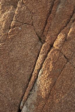 Oxidised gabbro, St. David's Head
