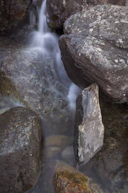 Balanced boulder, Stickle Ghyll